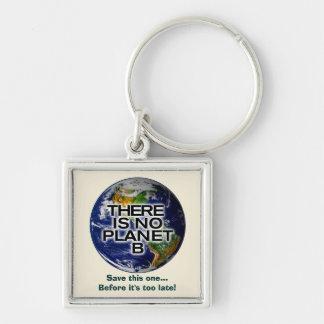No Planet B Environmental Awareness Key Chain
