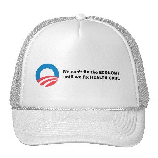 No podemos fijar la economía hasta que fijemos ate gorras