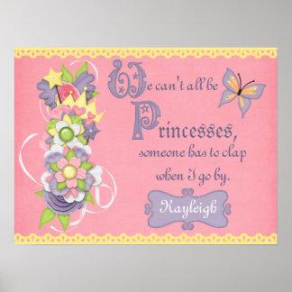 No podemos todos ser princesas impresiones
