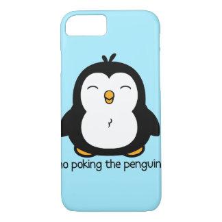 No Poking The Penguin iPhone 7 Case