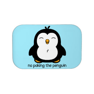 No Poking The Penguin Lunch Box
