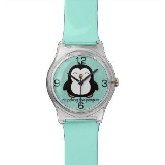No Poking The Penguin Wristwatches