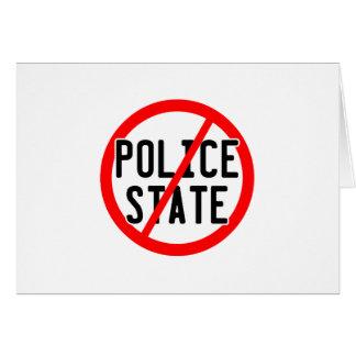 NO POLICE STATE - nwo/illuminati/occupy/bankster Card