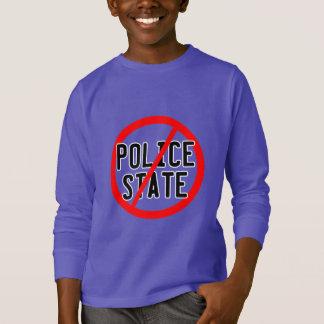 NO POLICE STATE - nwo/illuminati/occupy/bankster T-Shirt