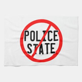 NO POLICE STATE - nwo/illuminati/occupy/bankster Towel
