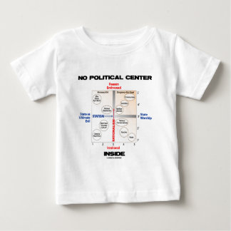 No Political Center Inside (Pournelle Chart) Baby T-Shirt
