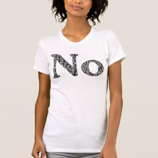 No - Political Collage - Women's T-shirt