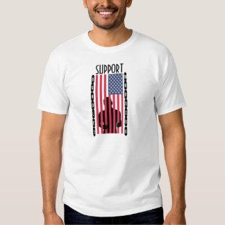 No Political Prisoners t-shirt