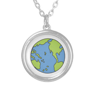 No Polluter Hooter Earth & Recycle Symbols Custom Jewelry