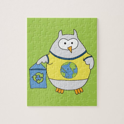 No Polluter Hooter Jigsaw Puzzle