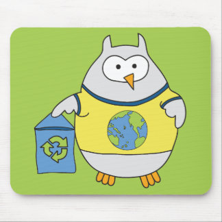 No Polluter Hooter Mouse Pad