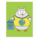 No Polluter Hooter Postcards