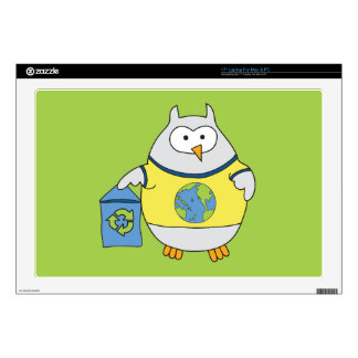 No Polluter Hooter Laptop Decal