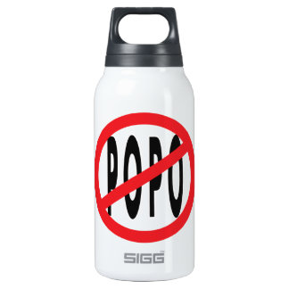 NO POPO! INSULATED WATER BOTTLE