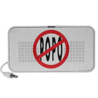 NO POPO! iPod SPEAKERS