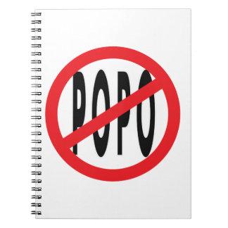 NO POPO! SPIRAL NOTEBOOK
