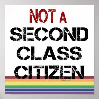 No posters del ciudadano de la segunda clase