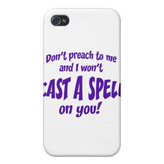 No predique a mí… iPhone 4 carcasa