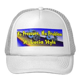 No Pressure No Problem St Lucia Hats