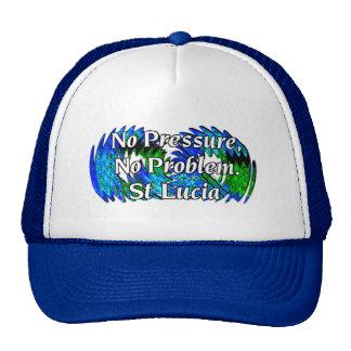 No Pressure No Problem, St Lucia Mesh Hats