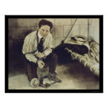 No Prison Can Hold Harry Houdini 1898 Print