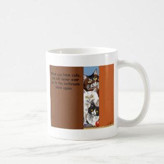 No Privacy! Coffee Mug