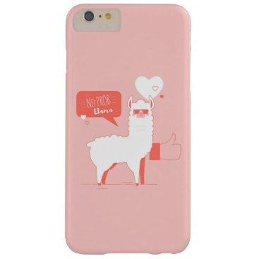 No Prob Llama Barely There iPhone 6 Plus Case