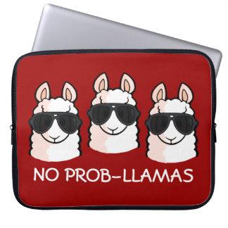 No Prob-Llama Computer Sleeve