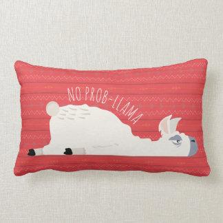 No Prob-Llama Funny Llama Lumbar Pillow