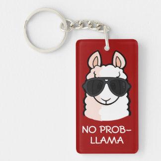 No Prob-Llama Keychain