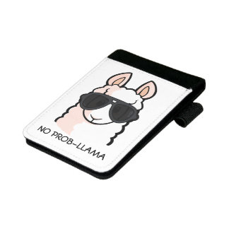 No Prob-Llama Mini Padfolio