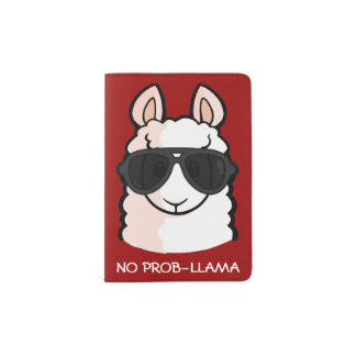 No Prob-Llama Passport Holder