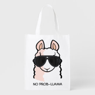 No Prob-Llama Reusable Grocery Bag
