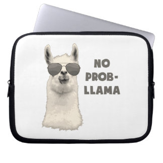 No Problem Llama Computer Sleeve