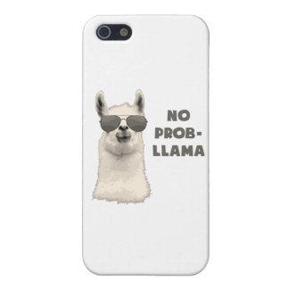 No Problem Llama iPhone SE/5/5s Cover