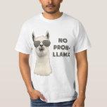 No Problem Llama Tee Shirt