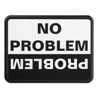 NO PROBLEM TRAILER HITCH COVER