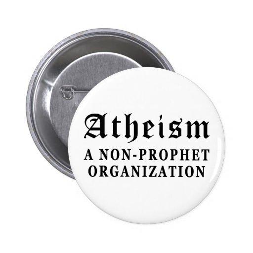 No-Profeta del ateísmo Pins