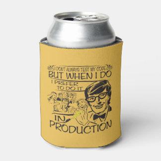 No pruebo siempre mi código enfriador de latas