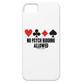 No Psych Bidding Allowed (Duplicate Bridge) iPhone 5 Covers
