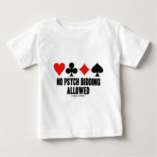 No Psych Bidding Allowed (Duplicate Bridge) T-shirt