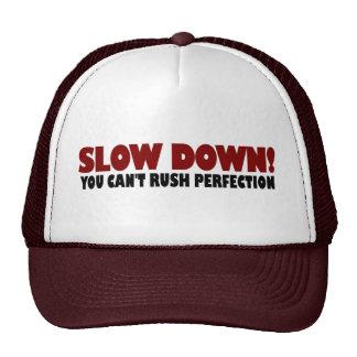 No puede acometer la perfección gorras de camionero