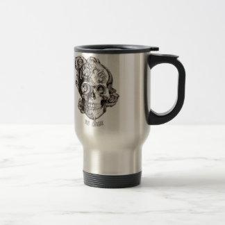 No puede atarme, el cráneo náutico taza de café