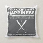 No puede comprar béisbol de la felicidad almohadas