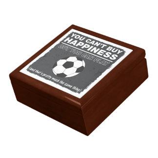 No puede comprar fútbol de la felicidad cajas de recuerdo