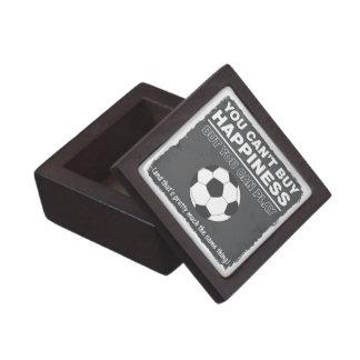 No puede comprar fútbol de la felicidad caja de recuerdo de calidad