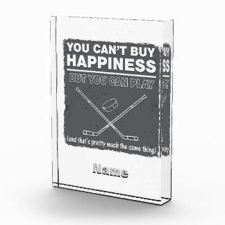 No puede comprar hockey de la felicidad