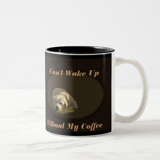 No puede despertar la taza