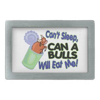 No puede dormir puede de toros me comerá hebilla cinturón