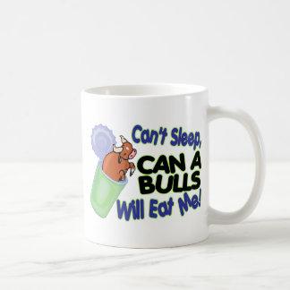 No puede dormir puede de toros me comerá tazas